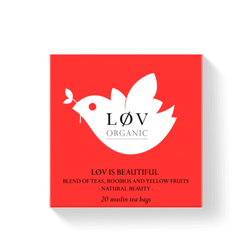 LØV IS BEAUTIFUL 20 MUSLIN TEA BAGS